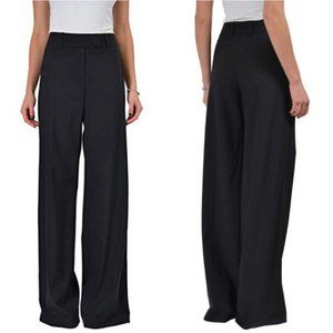 Hugo Boss 4 Small Black Tusana 1 Wool Pant Trouser
